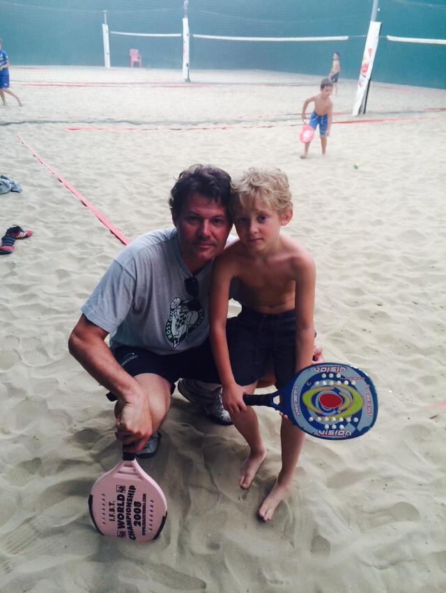 Fabrizio Padovani, tennis e beach tennis.
